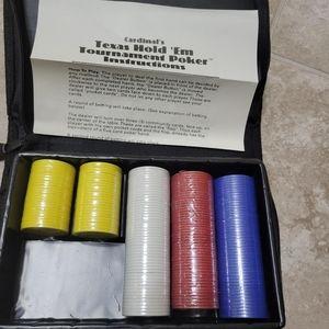 2/$10 Poker Chips 200 NEW Texas Hold Em